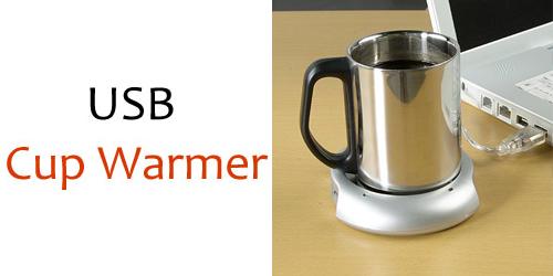 Θερμαινόμενη Εστία Υπολογιστή - USB Cup Warmer