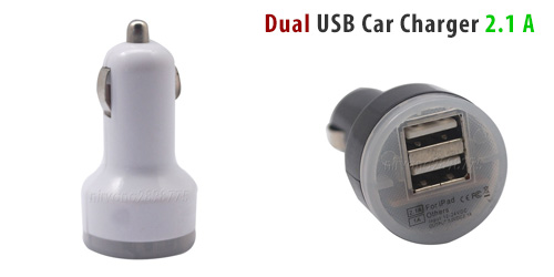 Mini, High, Power, Dual, Car, USB, Charger, 2,1A, for, iPhone,, iPad, &, Android, Tablets, Είδη Αυτοκινήτου, Αξεσουάρ Αυτ/του & Μηχανής, Mini High Power Dual Car USB Charger 2,1A for iPhone, iPad &  Android Tablets
