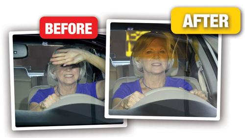 Αλεξήλιο Αυτοκινήτου ClearVisor για Ασφαλή Οδήγηση Μέρα και Νύχτα