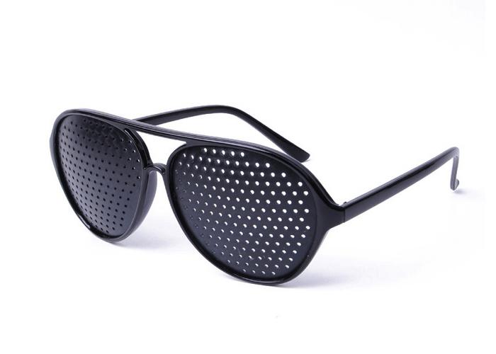 5d23fb4fec ΟΠΤΙΚΑ-ΓΥΑΛΙΑ- Στενοπικά Γυαλιά Πλέγματος - Pinhole Glasses Aviator Για  Εξάσκηση   Βελτίωση Της Όρασης - www.safe-shop.gr