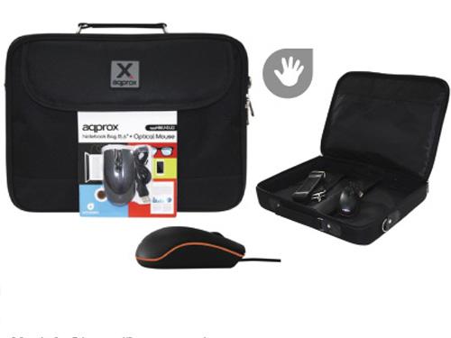 "c2da61161d Θήκες Τσάντες για Tablet- Τσάντα Μεταφοράς Laptop 15.6"" + Οπτικό Ποντίκι  800dpi Της Aqprox - www.safe-shop.gr"