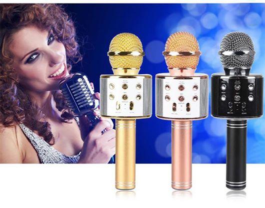 Μικρόφωνο Καραόκε Bluetooth Με Ηχείο 5W WS-858, Μικρόφωνο, Καραόκε, karaoke, Bluetooth, Με, Ηχείο, 5W, WS-858