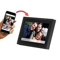 "Ψηφιακή κορνίζα 7"" Smart Social Media WiFi FRAMEO photo frame Denver PFF-711 Black"