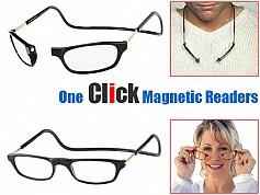 ba4e5bffc6 ΟΠΤΙΚΑ-ΓΥΑΛΙΑ- Διαιρούμενα Γυαλιά Πρεσβυωπίας – Click Readers Magnetic - www .safe-shop.gr